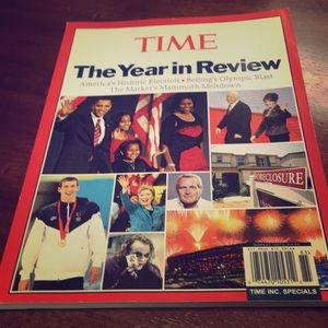 Time Special Magazine, 2009. The Year in Review.